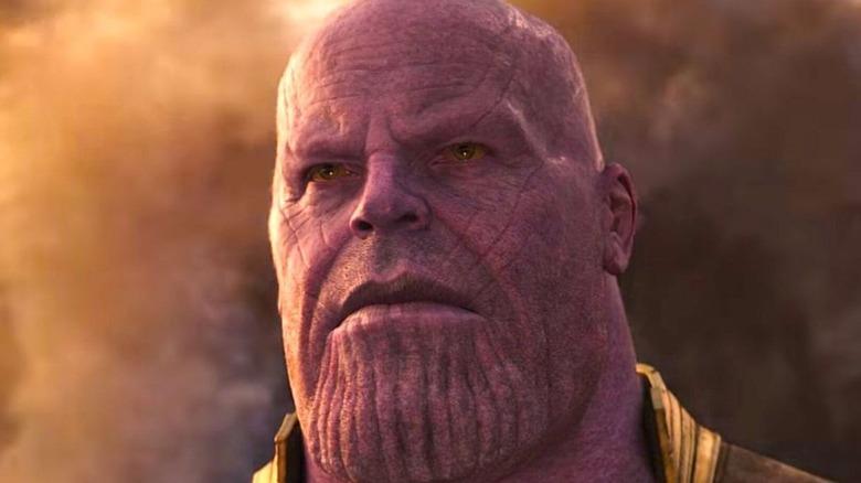 Thanos arrives on Earth