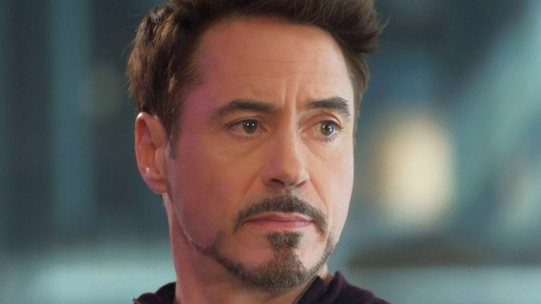 Robert Downey Jr. looking concerned