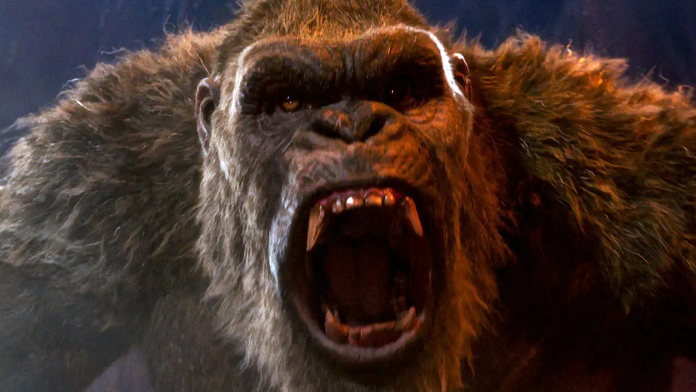 Kong screams with rage