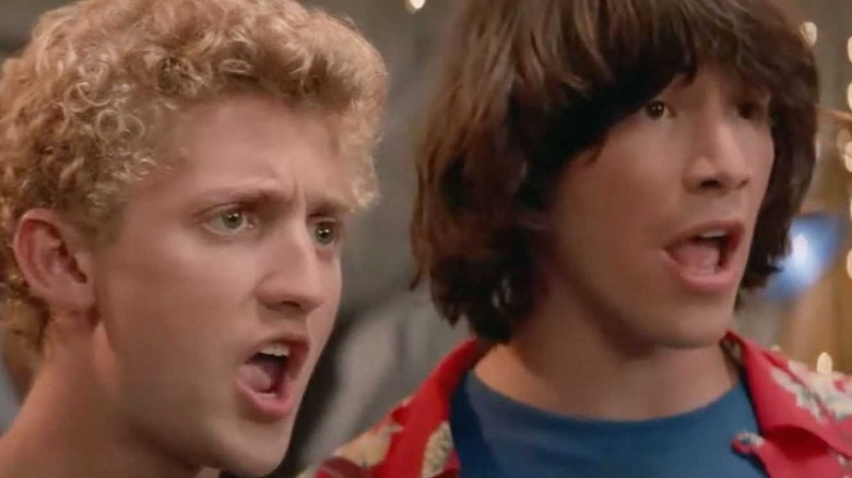 Bill and Ted surprised