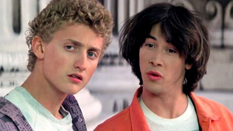 Alex Winters and Keanu Reeves as Bill and Ted