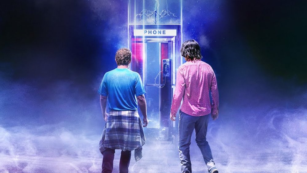 Alex Winter and Keanu Reeves as Bill and Ted in a promo image for Bill & Ted Face the Music