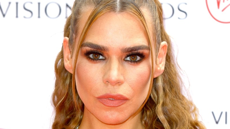 Billie Piper poses for a photo