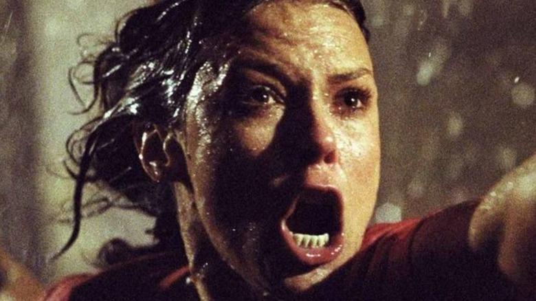 JoBeth Williams screams in the rain