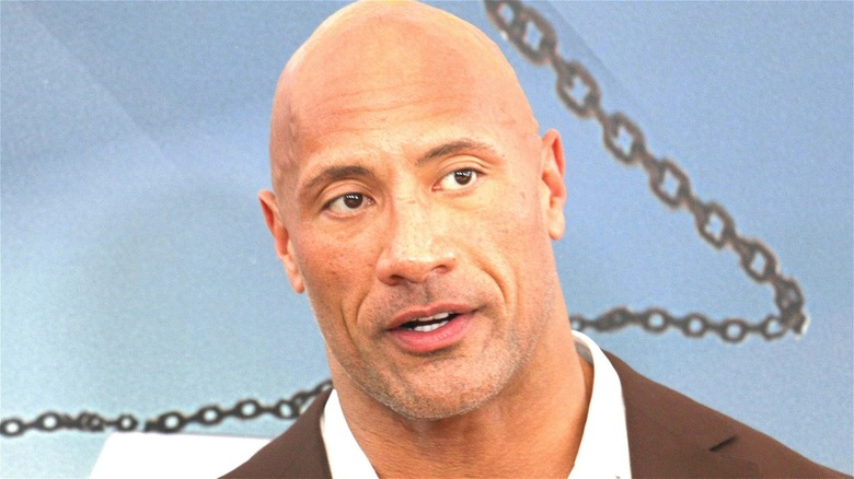 The Rock at an event
