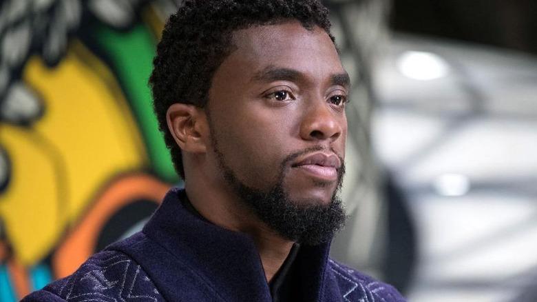 Chadwick Boseman T'Challa Black Panther