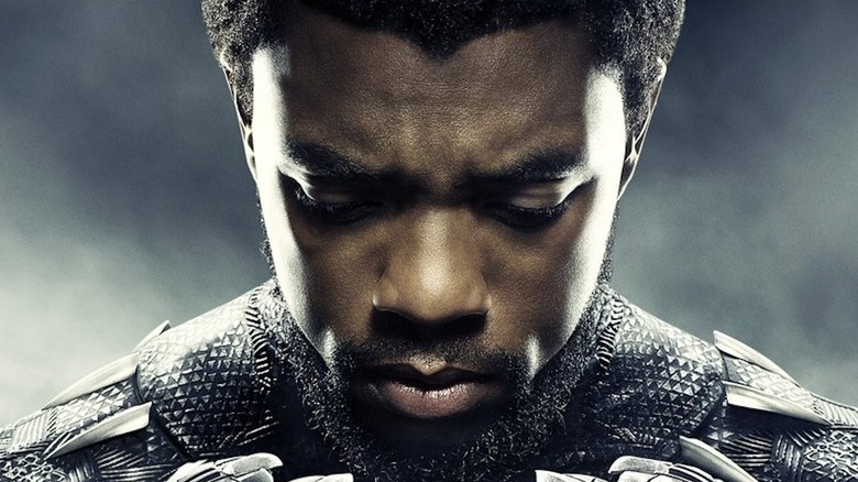 T'Challa looking downward