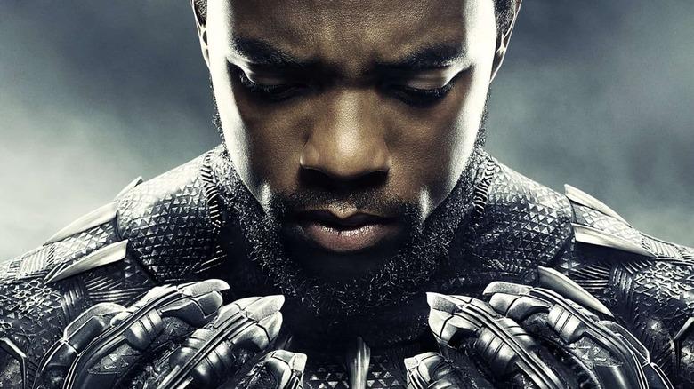 Chadwick Boseman Black Panther claws