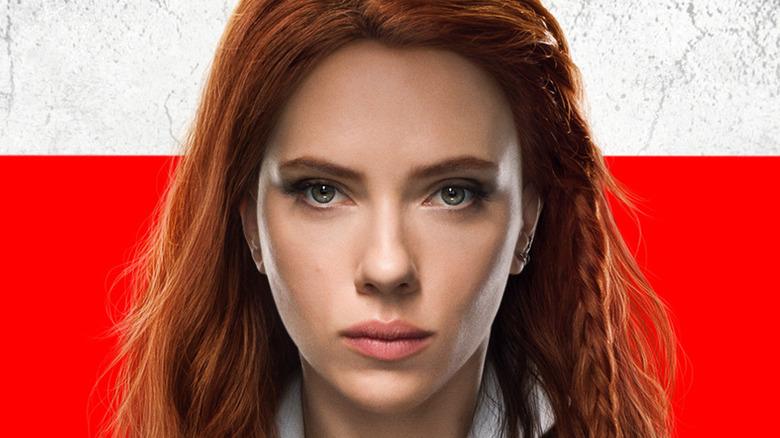 Black Widow red hair