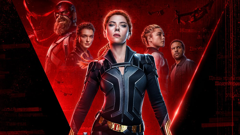 Official poster art for Black Widow