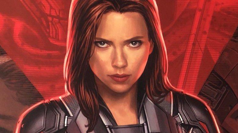Black Widow solo movie poster