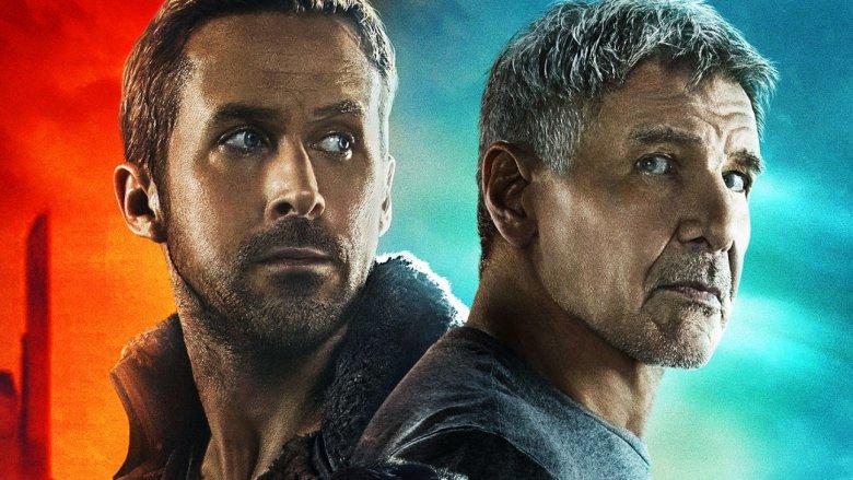 Ryan Gosling Harrison Ford Blade Runner 2049 poster