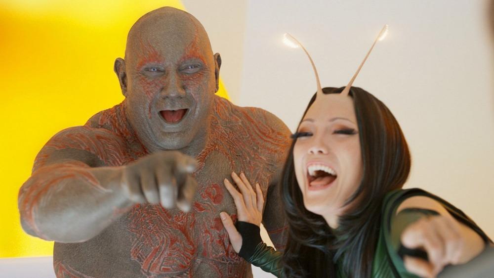 Guardians 2 Drax and Mantis