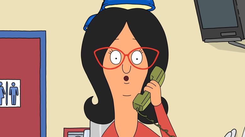 Linda Belcher surprised on phone