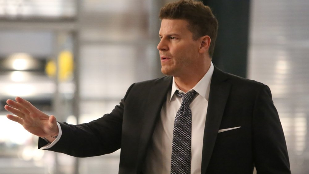 David Boreanaz as Special Agent Seeley Booth on Bones