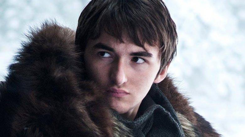 Isaac Hempstead Wright as Bran Stark on Game of Thrones