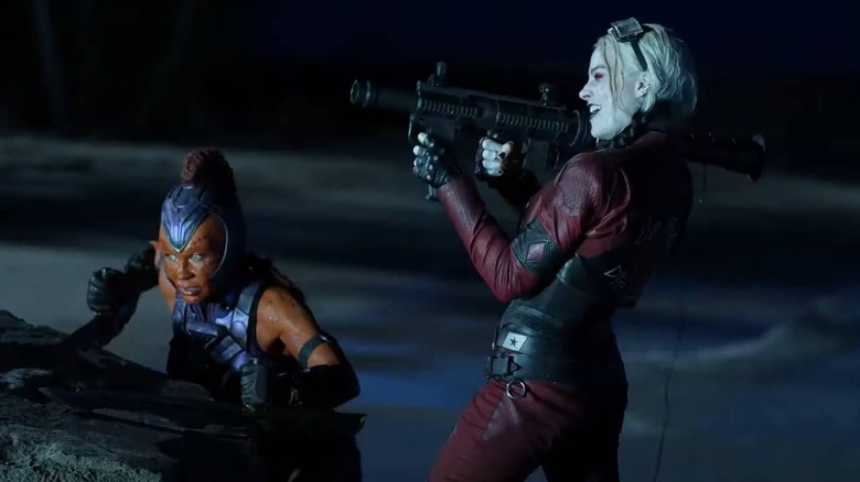 Harley Quinn and Sol Soria work together in the upcoming The Suicide Squad