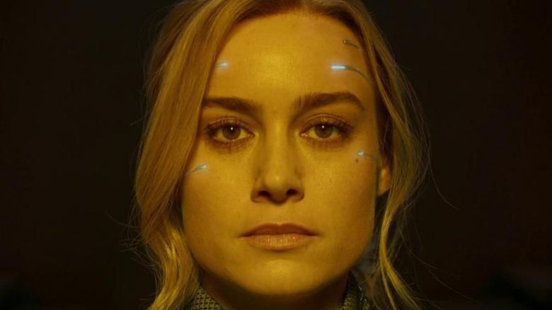 Brie Larson as Captain Marvel in Captain Marvel