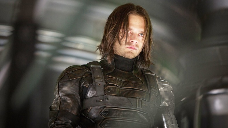 Sebastian Stan as Bucky Barnes in Captain America: The Winter Soldier