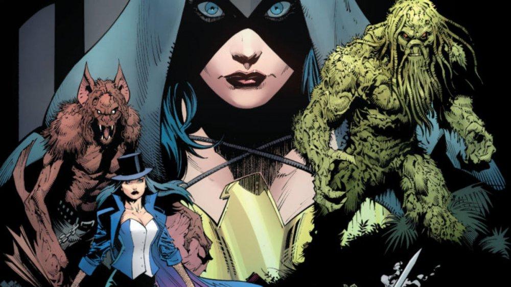 Justice League Dark cover art