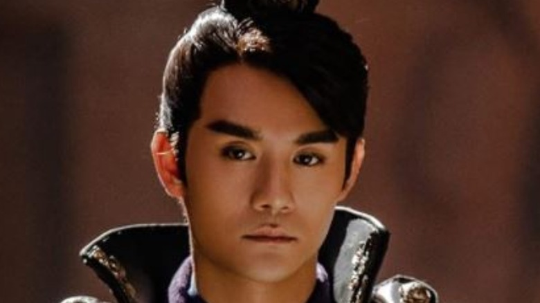 Cao Cao looking serious