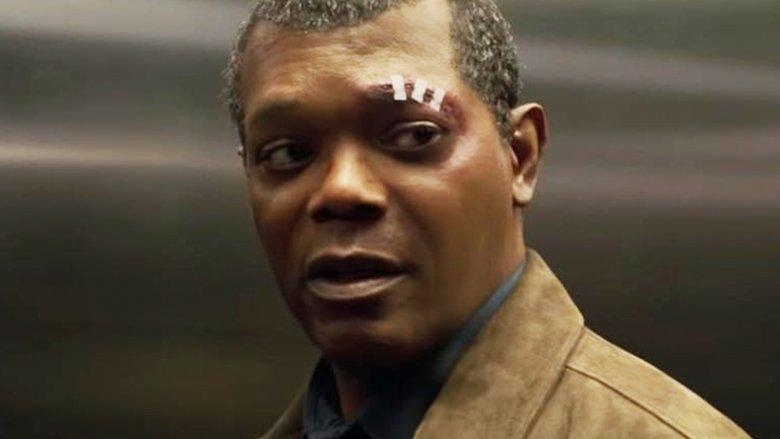 Samuel L. Jackson Captain Marvel as Nick Fury