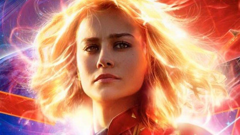 Captain Marvel poster Brie Larson