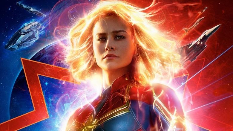 Captain Marvel Brie Larson poster