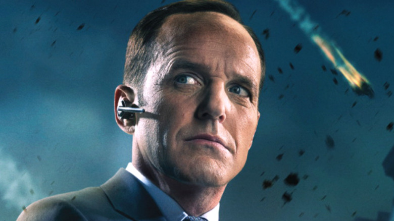 Agent Coulson and Korath the Pursuer