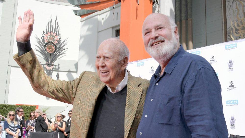 Carl Reiner and Rob Reiner