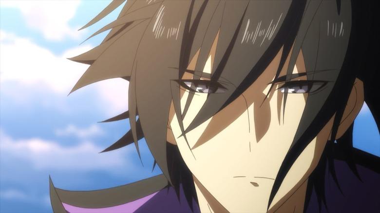 Seiya looking serious