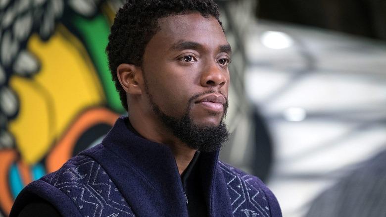 Chadwick Boseman as Black Panther/T'Challa