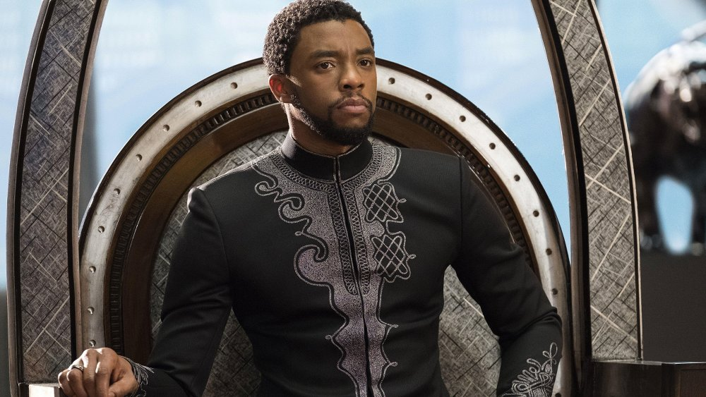 Chadwick Boseman as T'Challa a.k.a. Black Panther