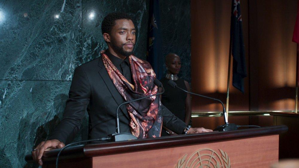Chadwick Boseman T'Challa United Nations