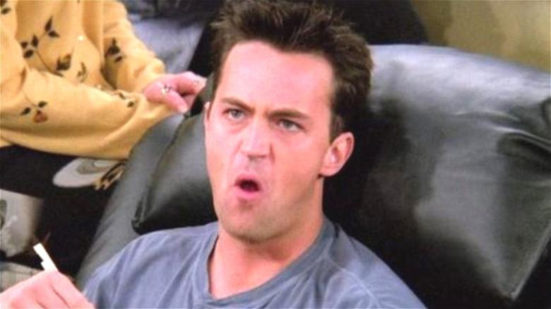 Matthew Perry as Chandler on 'Friends'