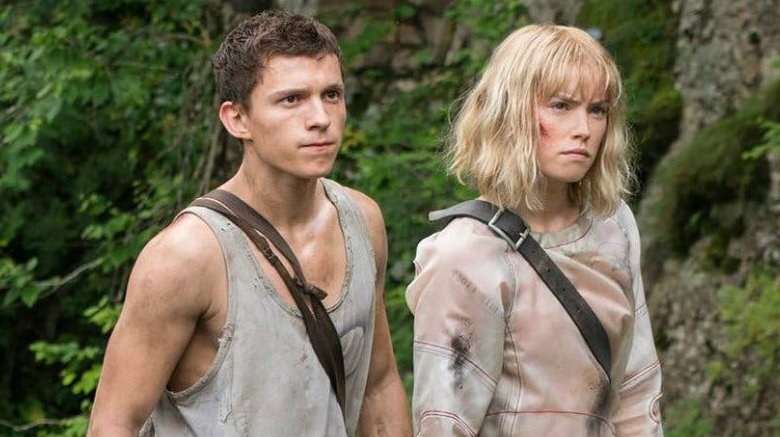 Daisy Ridley and Tom Holland Chaos Walking
