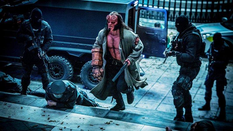 David Harbour in 'Hellboy'