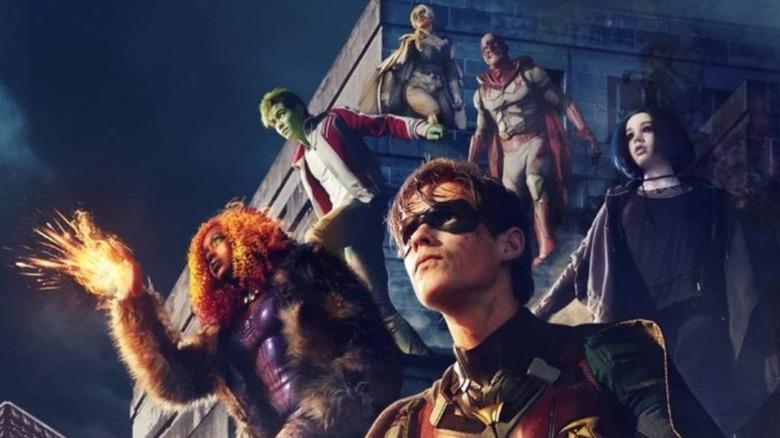 Promotional artwork for Titans