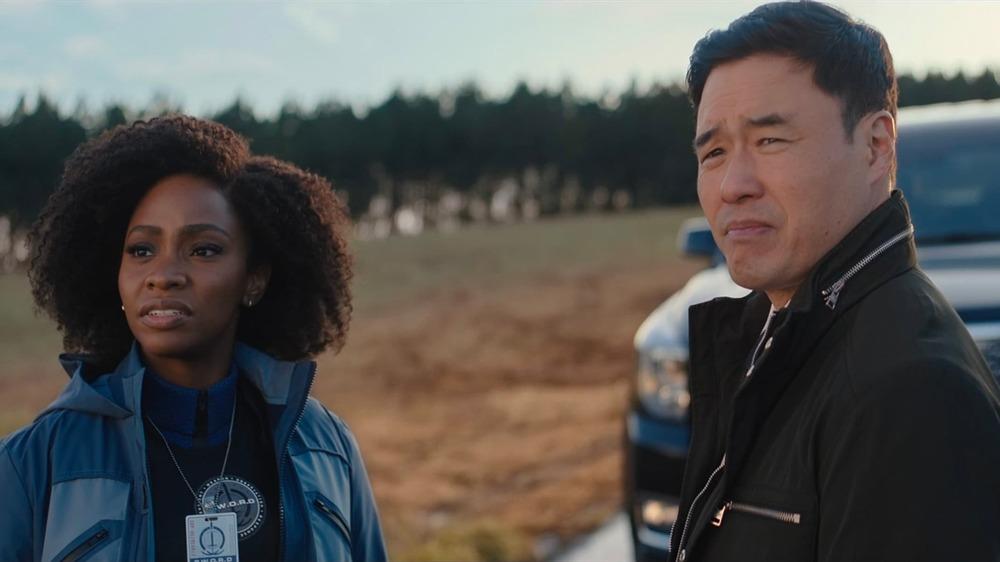 Monica Rambeau and Jimmy Woo in WandaVision