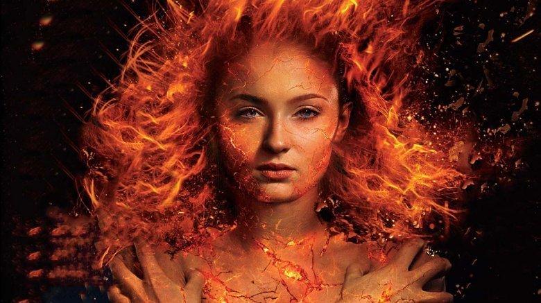 Sophie Turner as Phoenix in promotional art