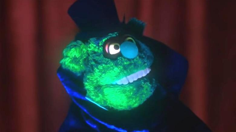 Fozzy Bear in horror costume