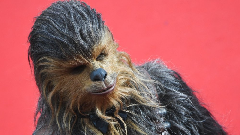 Chewbacca smiling