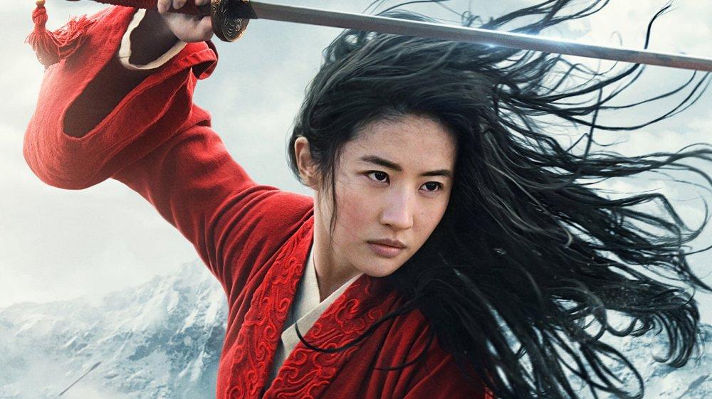 Liu Yifei as Mulan in the 2020 remake