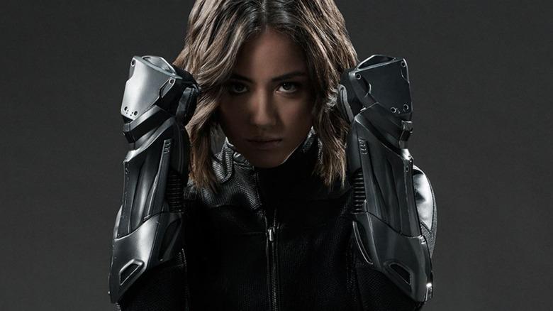 Chloe Bennet as Quake on Agents of S.H.I.E.L.D.