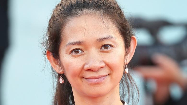 Chloe Zhao smiling