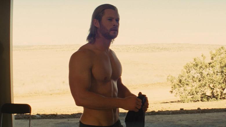 Chris Hemsworth as Thor in his 2011 debut
