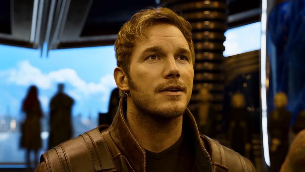 Chris Pratt as Star-Lord in Guardians of the Galaxy Vol. 2