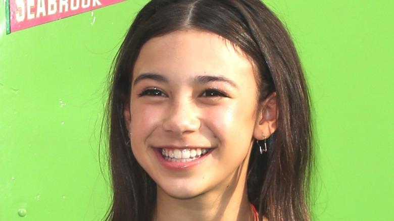 Scarlett Estevez stars as Ro in Disney Channel's Christmas Again