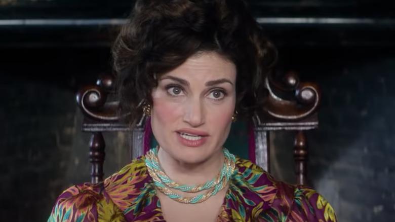 Vivian looking menacing 2021 Cinderella movie