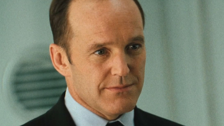 Phil Coulson wearing suit